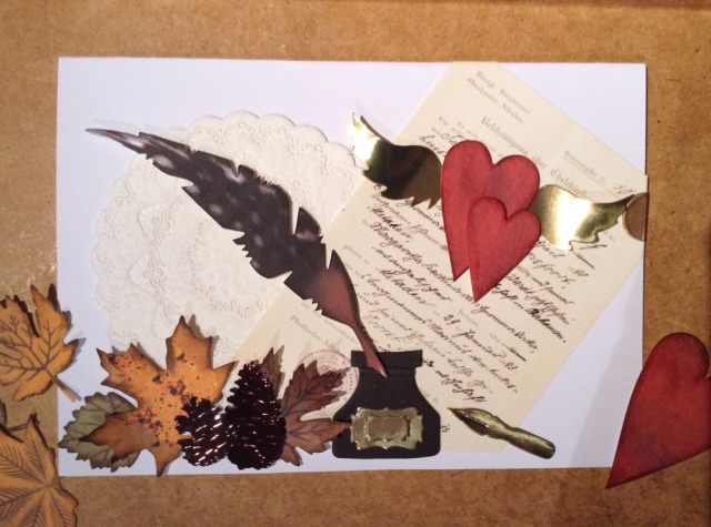 Fall wedding card