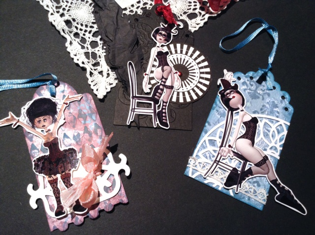 burlesque gift tags
